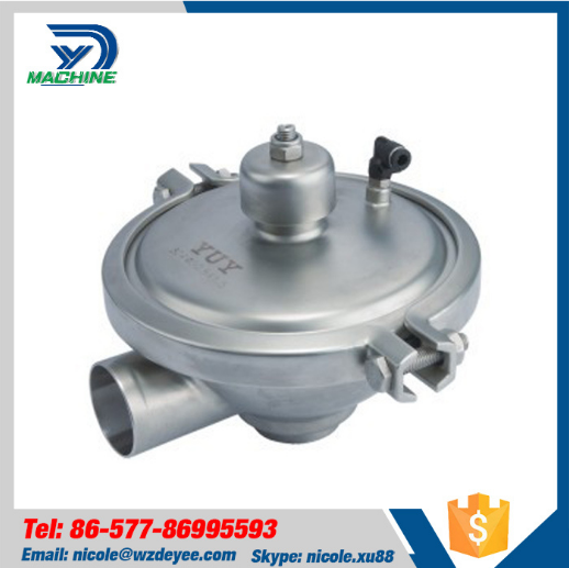 Sanitary Hygienic 304 316 Constant Pressure Control Valves