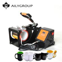 automatic mug heat press machine 8 in 1 heat press printing machine ech-800