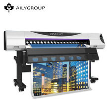 Aily 1.8M 1440 dpi small eco solvent printer with double head dx5