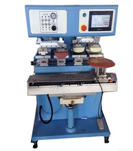 4-color large size pad printing machine with independent pad and PLC system