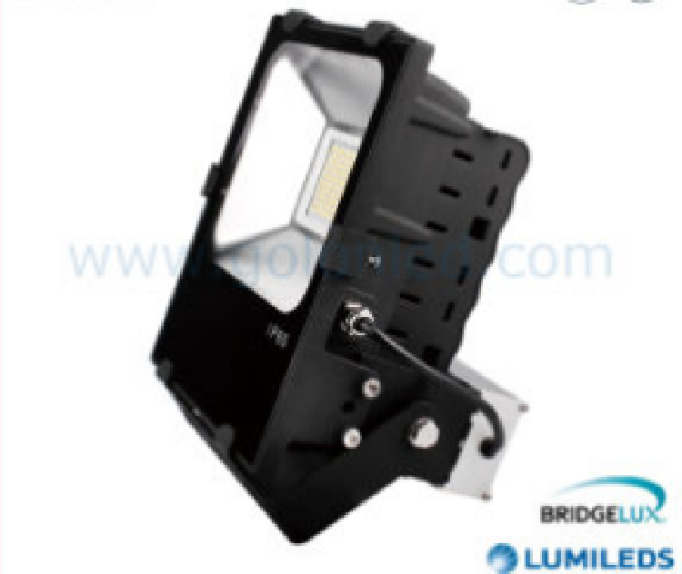 70W LED Flood Light Fin Alum Body 130lm/W Philips SMD LED Ra80 70W LED Floodlight