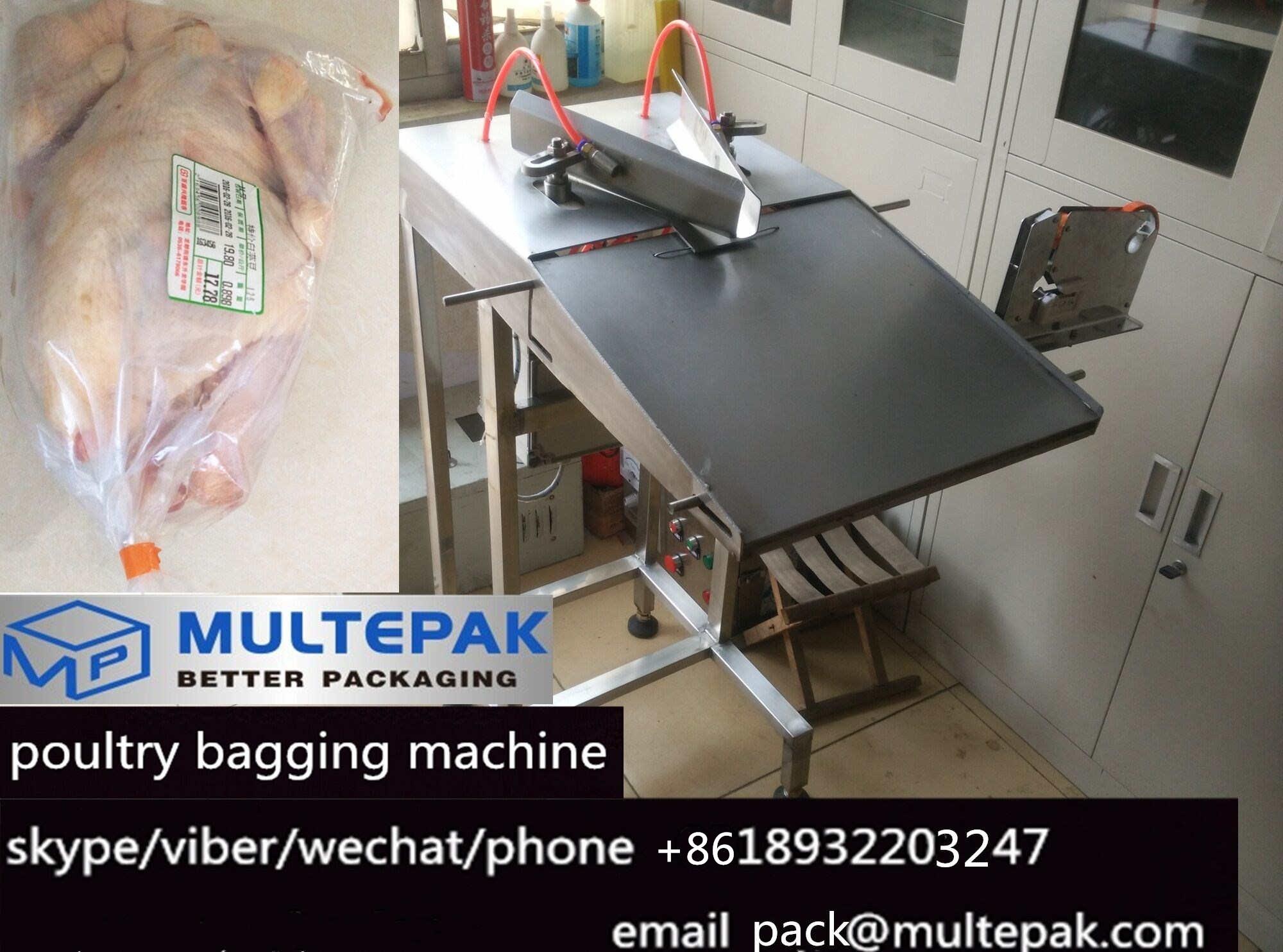 multepak poultry bagging machine
