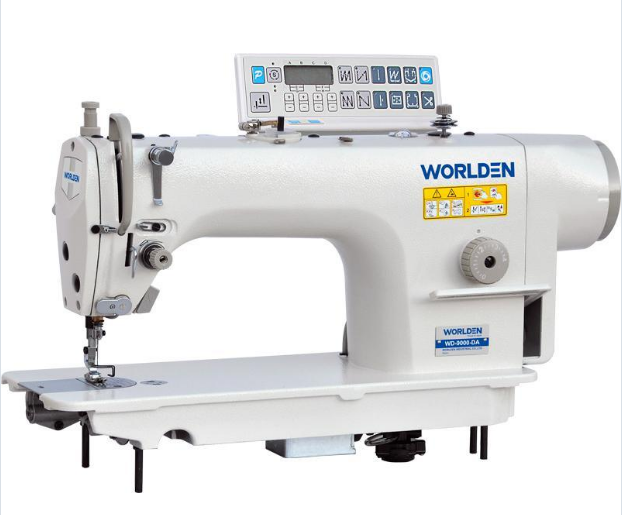 WD-9000-DA Direct Drive Lockstitch Machine With Auto-trimmer