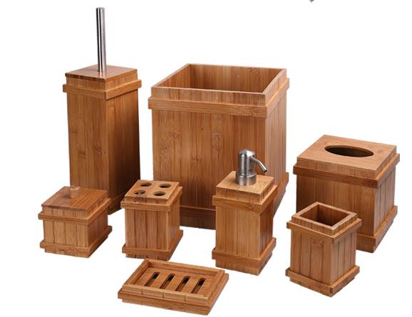 Hien-End Carbonized Bamboo Bath Ensembles (WBB0608A)