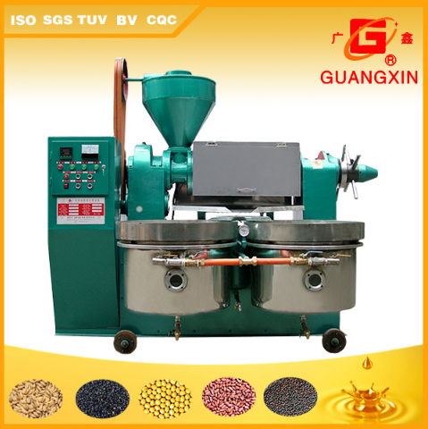 Soybean Seed Oil Expeller with Filter Oil Press Plant (YZYX130WZ)