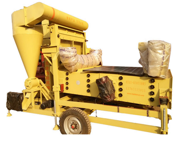Paddy Wheat Sesame Maize Seed Cleaning Machine / Grain Cleaner - buying leads