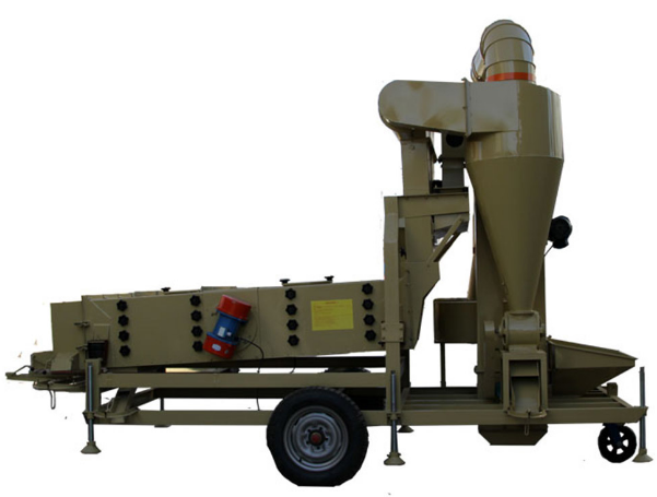 Paddy Wheat Sesame Maize Seed Cleaning Machine / Grain Cleaner