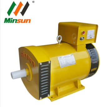 China St Stc Brush AC Generator 5kw 7.5kw 10kw 12kw