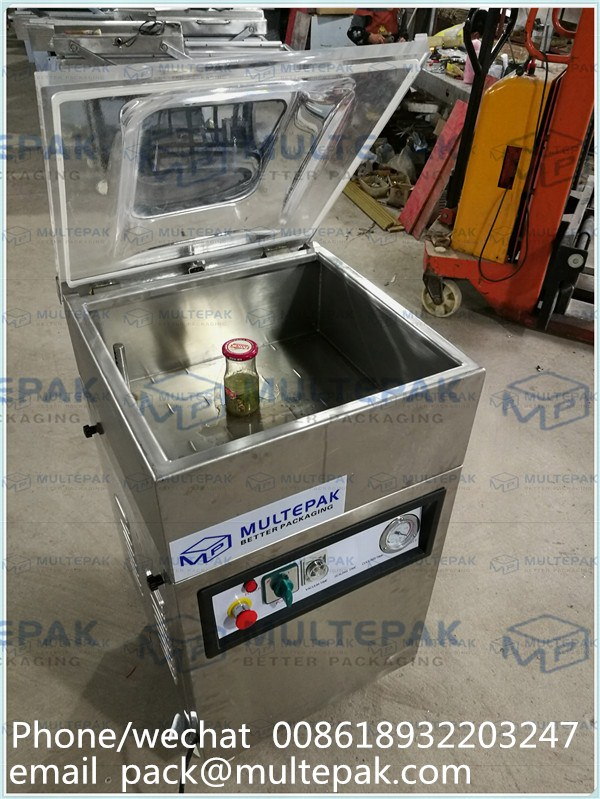 MULTEPAK Glass Jar Vacuum Packing Machine