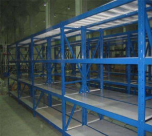 Pallet Style Long Span Through Heavy Duty Shelf Storage Rack