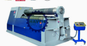 W11H-12X3000 3 Rolls Automatic Plate Industrial Bending Rolling Machine
