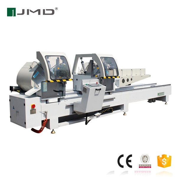 CNC double head precision cutting saw Aluminium window and door making machine