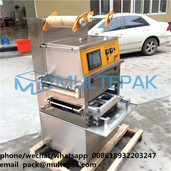 MULTEPAK Meal Tray Sealing Machine Map Packaging Sealing Machine