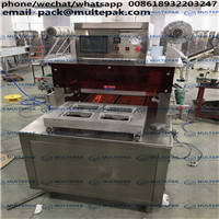 MULTEPAK  Automatic Map Tray Sealing Machine Nitrogen Vacuum Sealer Beef In Tray Vacuum Sealer