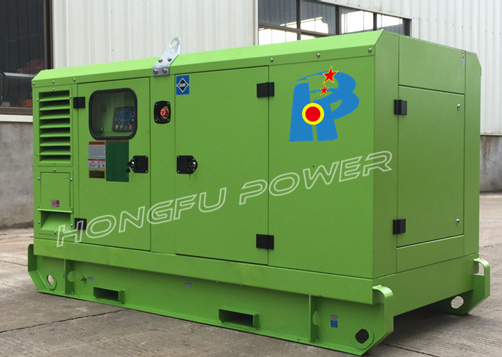 37kw 47kVA Lovol Silent Diesel Generator Set with Galvanized Canopy