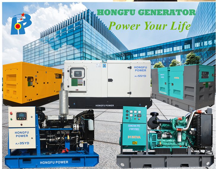 313kVA Standby Power Open Type Electric Cummins Diesel Generator