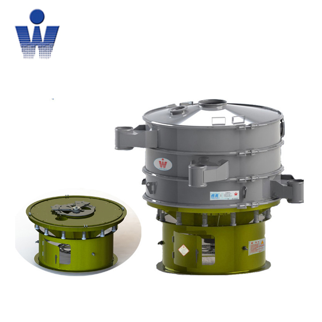 Round Vibrating sieving machine for powder