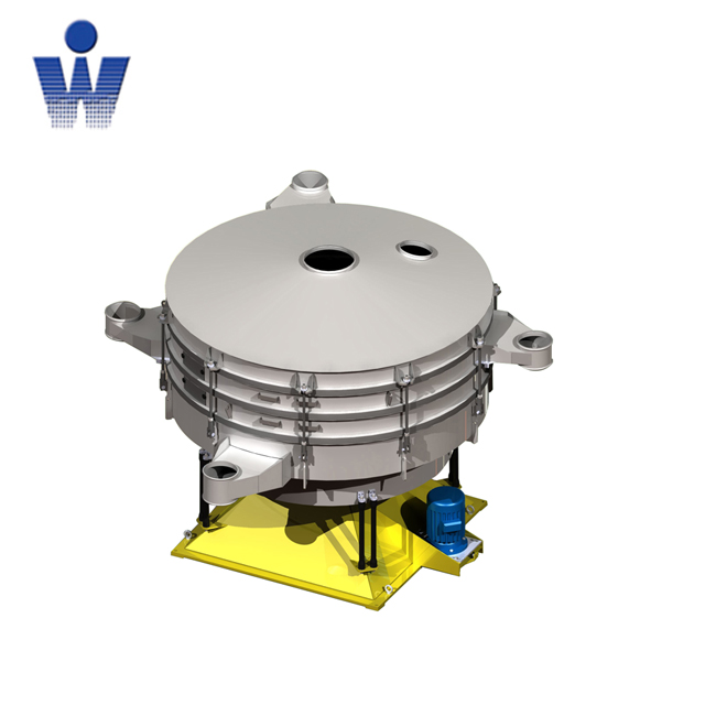 Tumbler sieving machine for powder