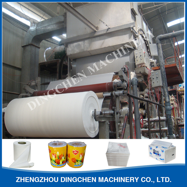 Toilet tissue paper making machine- buying leads