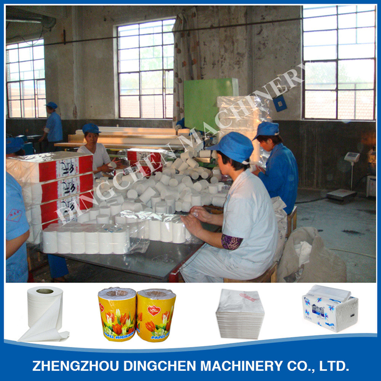 Toilet tissue paper making machine - buying leads