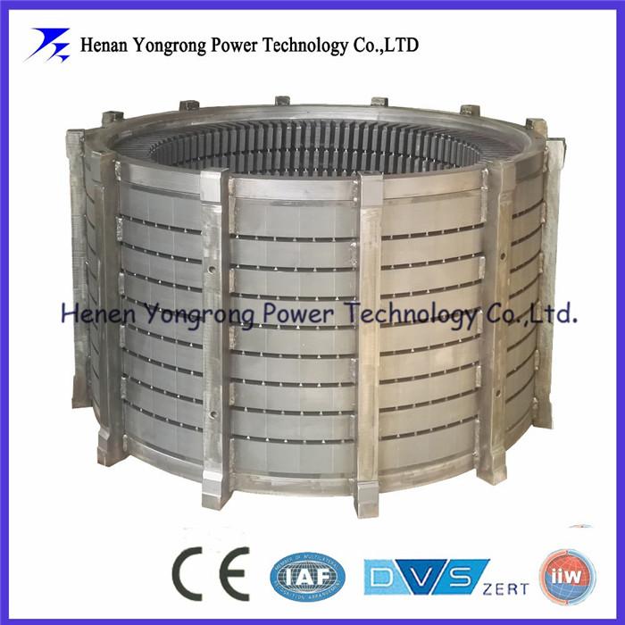 Marine motor stator rotor laminated cores