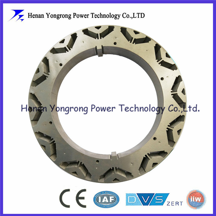 Permanent magnet motor rotor core