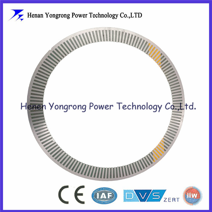 China supplier high voltage motor stamped core lamination