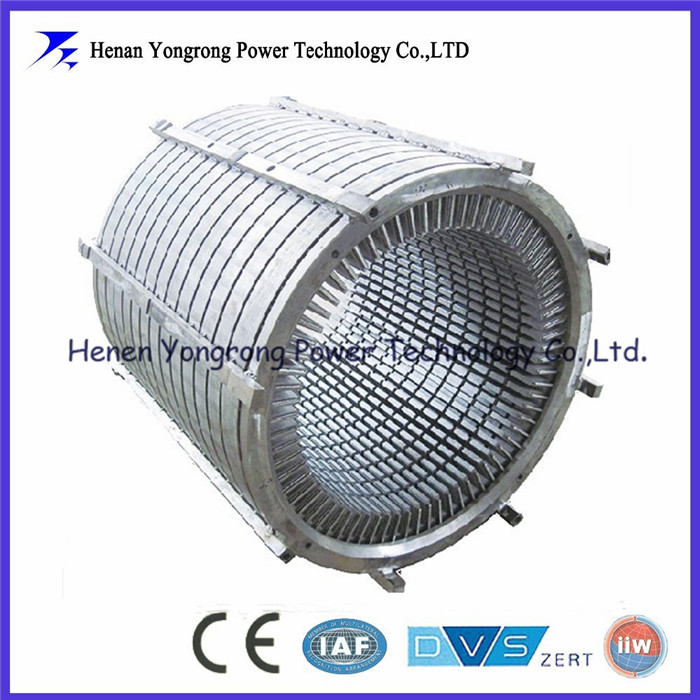 wind generator motor stator and rotor assembly