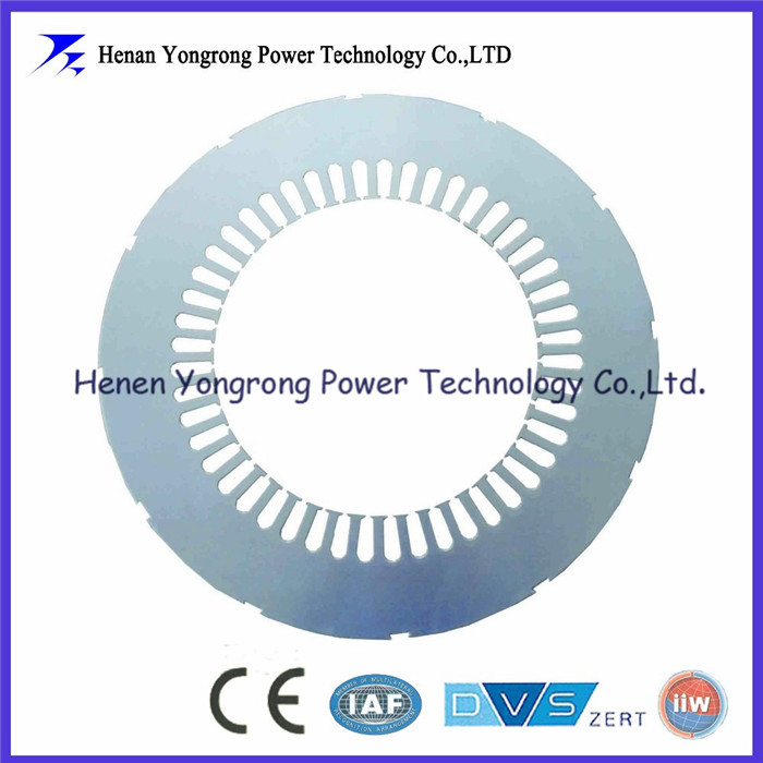Silicon steel stator lamination