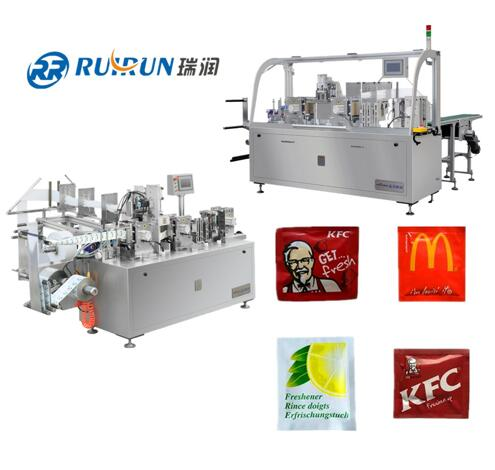 Easy to operate automatic wet wipe making machine with good price and high capacity