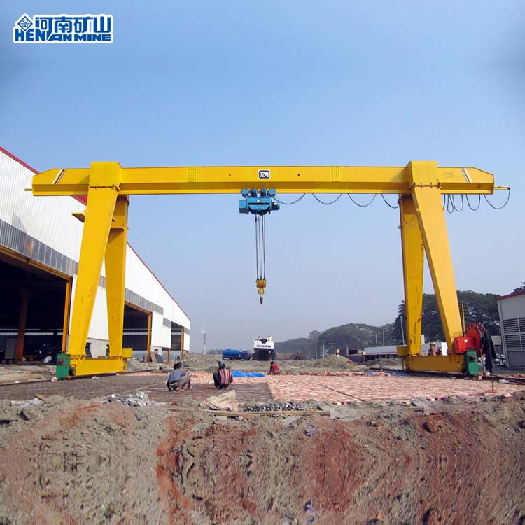 Single Beam Single Girder Gantry Crane 16T