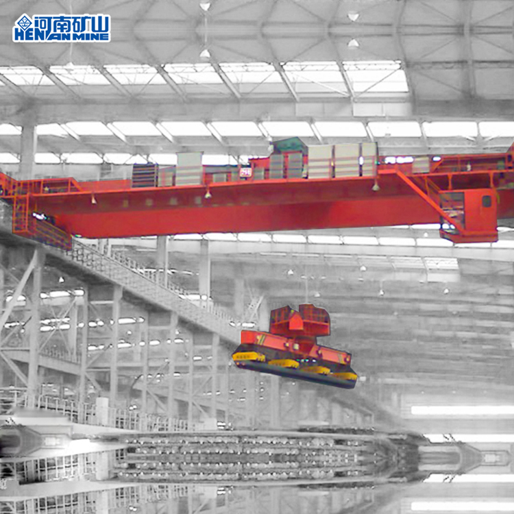 20 Ton Electric Double Beam Electromagnetic Bridge Crane