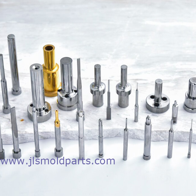 Tungsten mold components