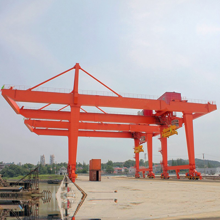 Heavy Duty Electric Lifting 120 Ton Gantry Container Crane