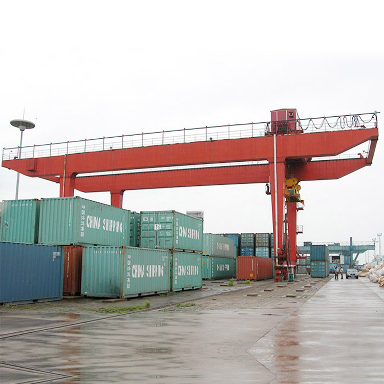 Container Gantry Cost Rmg Double Girder Used Rail Mounted Portal Crane - buying leads