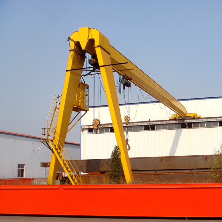 3 Ton Single Beam Portal Semi-Span Gantry Crane Price