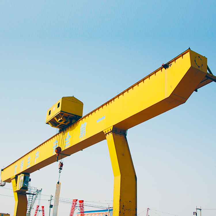 Mdg Model L Shape Cranes Adjustable Single Girder Gantry Crane 20 Ton