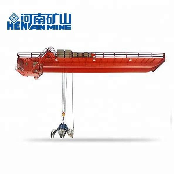 Bulk Material Lifting 20 Ton Grab Overhead Crane