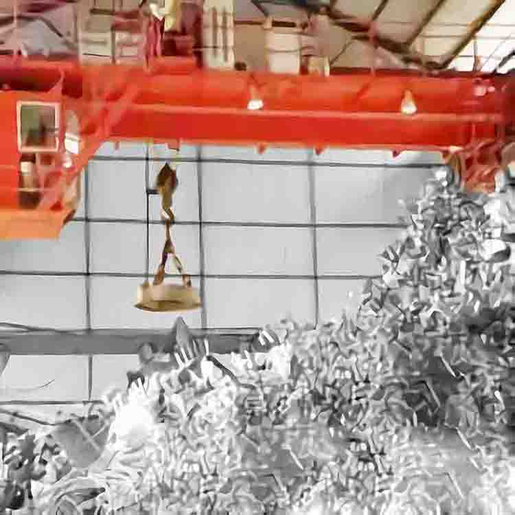 Lifting Magnet Overhead Crane for Metal Scrap