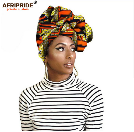Fashion african head scarf print cotton high quality women african clothing bazin rich Headwear wax A18H002 - buying leads