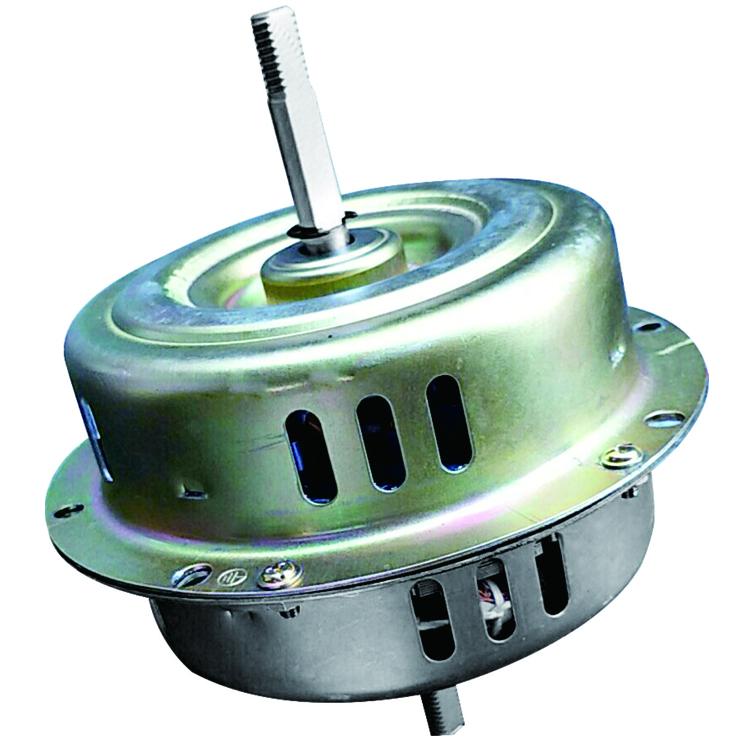 Water cooled fan motor