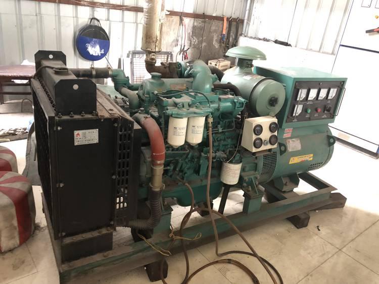 50kw 62kva used yuchai diesel generator set