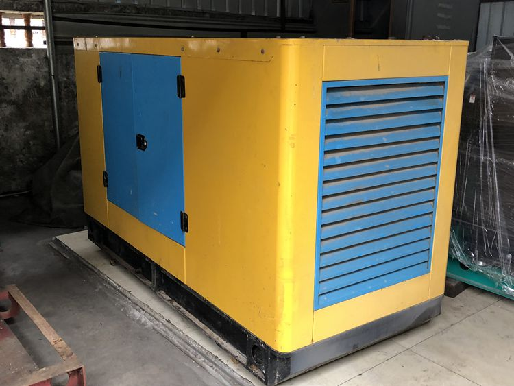 50kw 62kva Used yuchai low noise diesel generator set