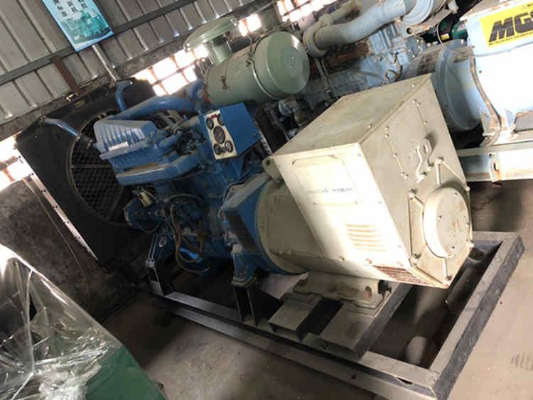 220kw 275kva Used shanghai diesel generators