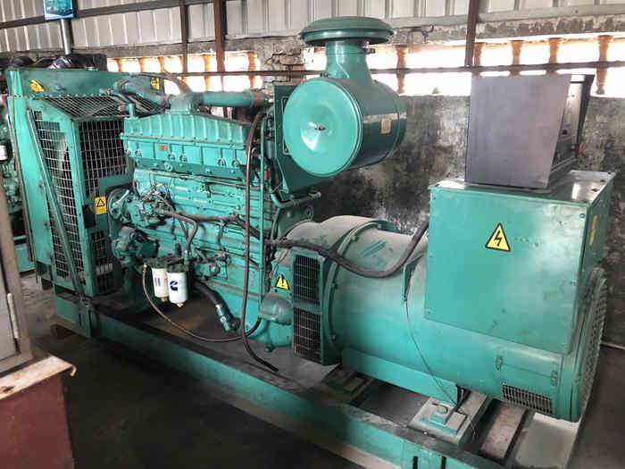310kw/380kva chongqing cummins second - hand diesel generator set