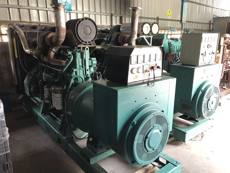 400kw/500kva used Volvo diesel generator set