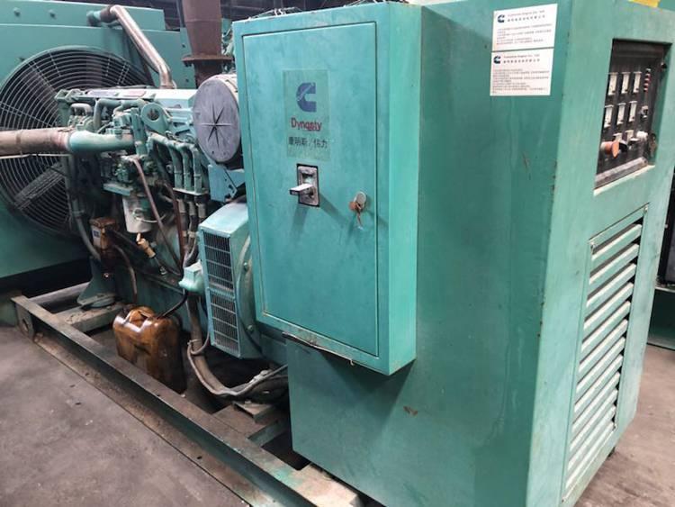 460kw/575kva used American cummins generator set