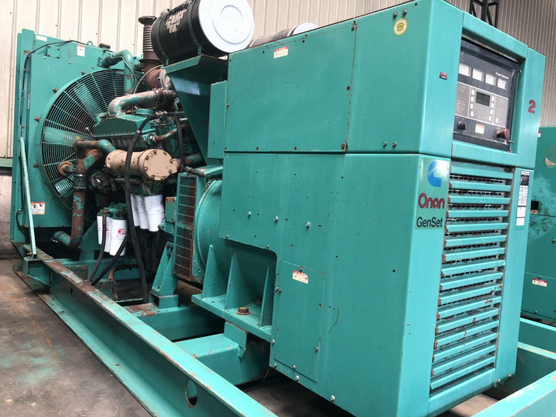 500kw/625kva used American cummins diesel generator set