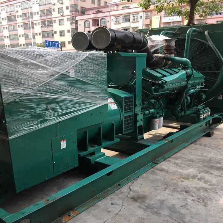 880kw/1100kva used American cummins diesel generator set