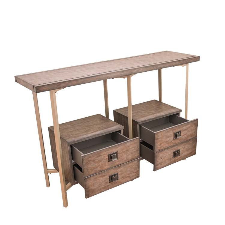 Classic console table with six drawers - buying leads